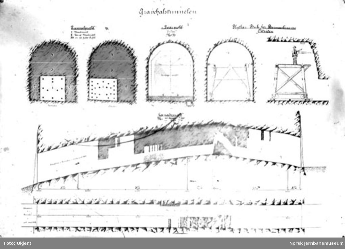 Profiler for Gravehalsen tunnel