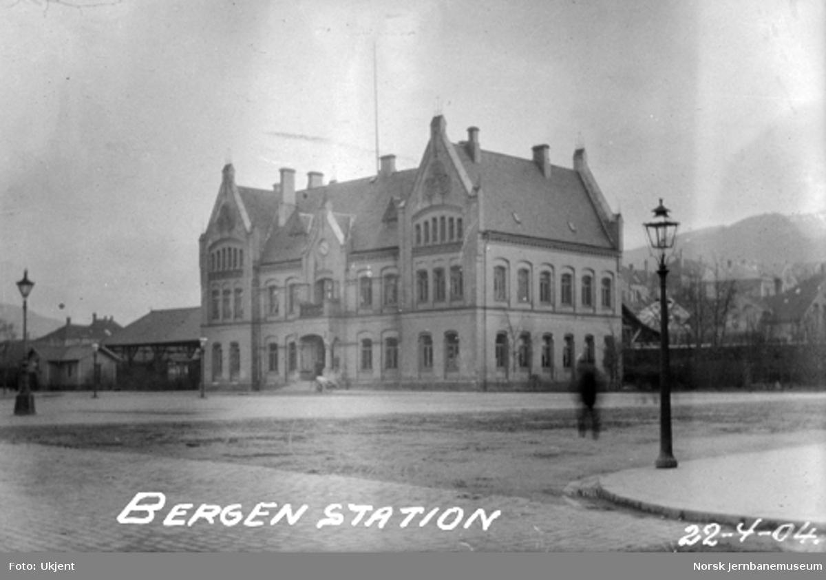 Bergen første stasjon fra bysiden