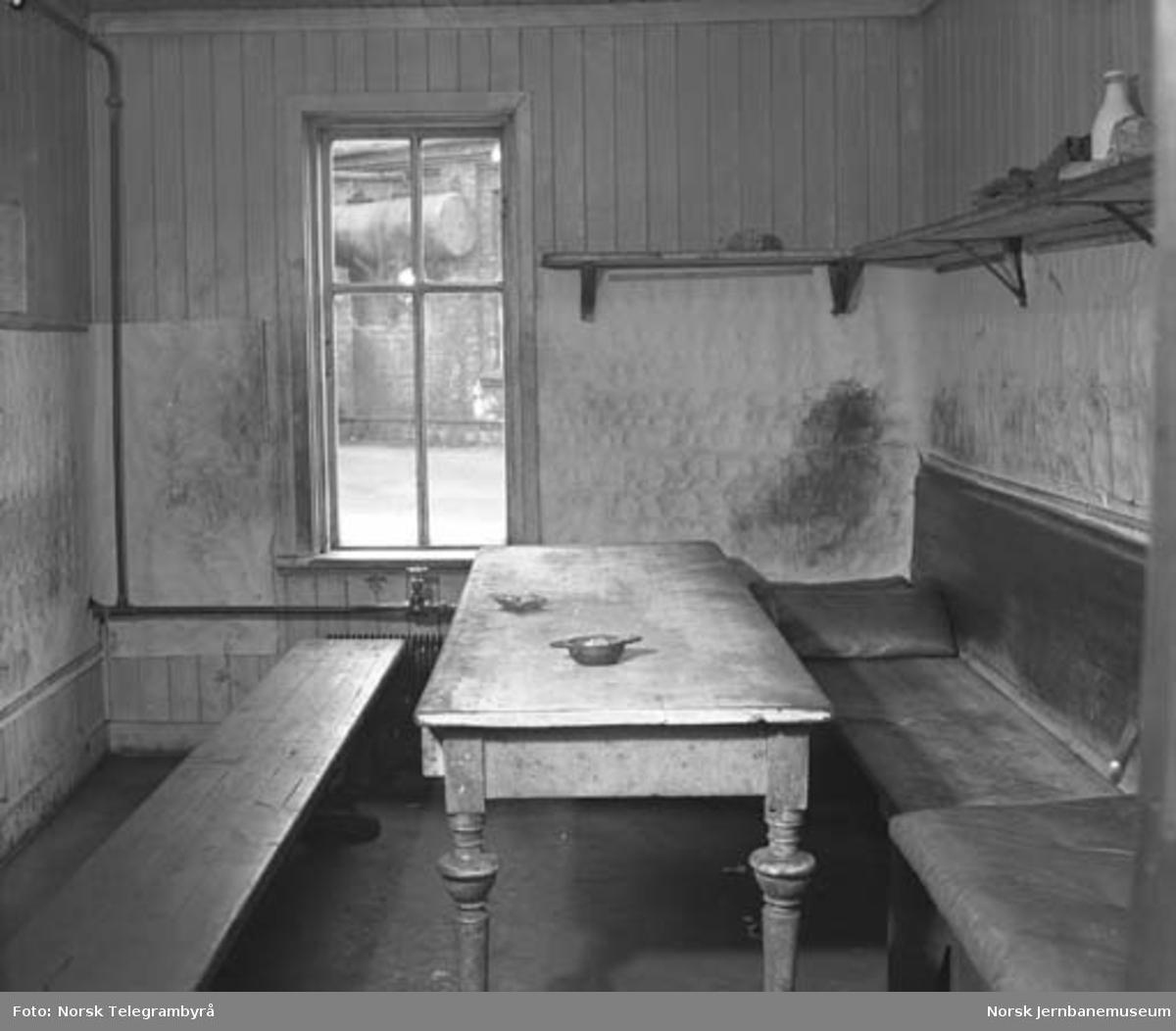 Hamar lokomotivstall : garderobe- og vaskerom