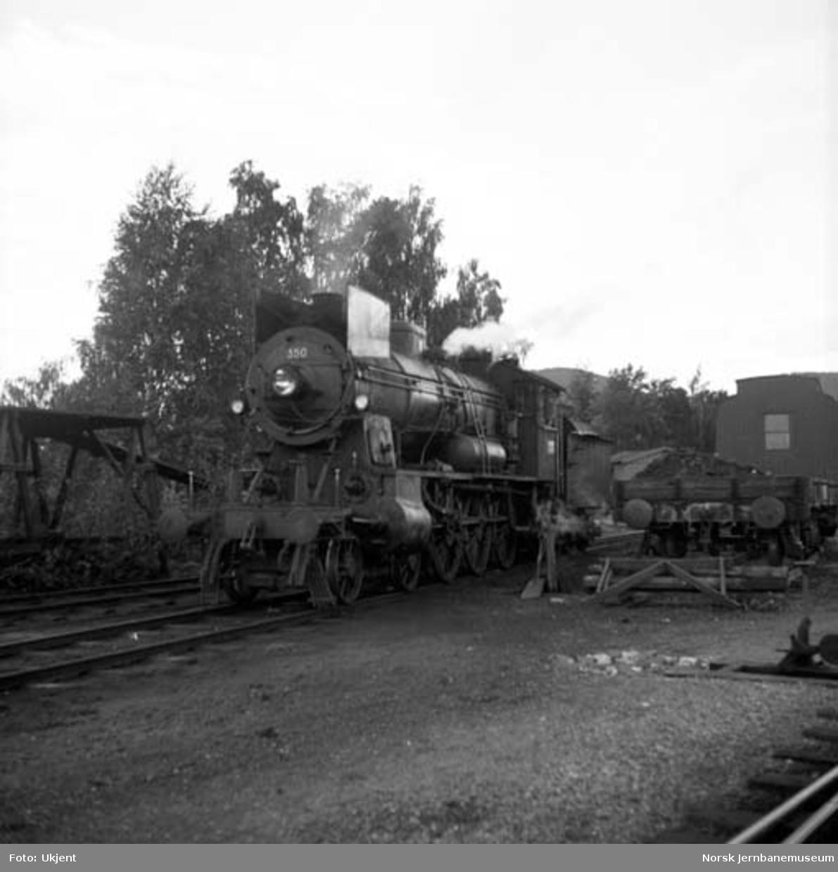 Damplokomotiv type 30b nr. 350