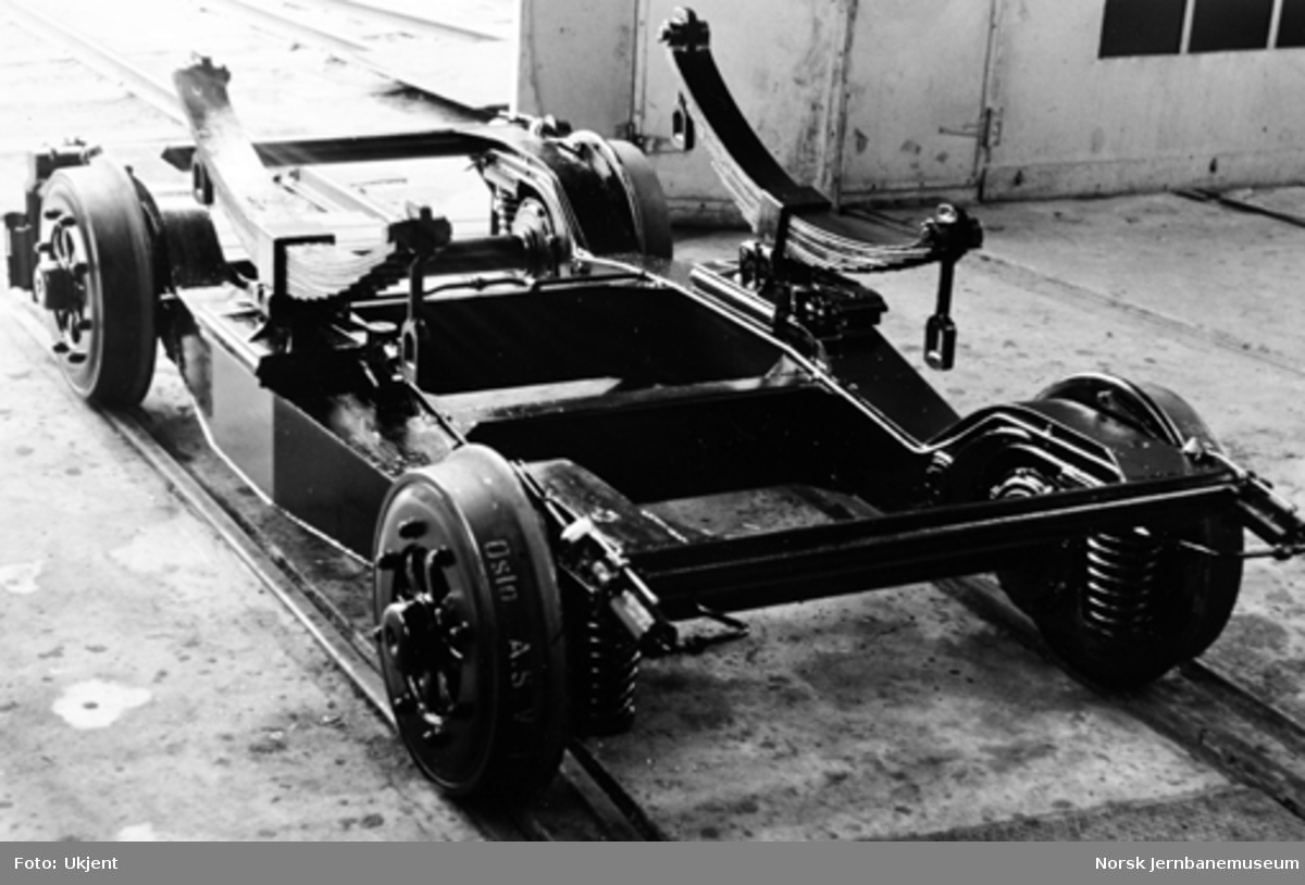 Dieselmotorvogn type 7 : boggi