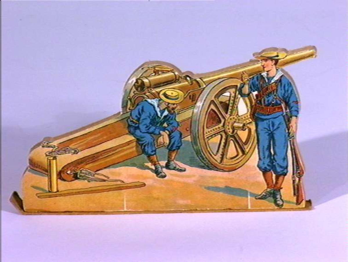 Soldat, artillerister