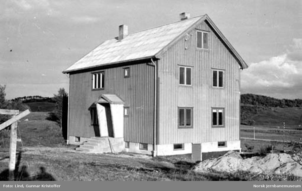 Nordlandsbaneanlegget : Hunstad brakke