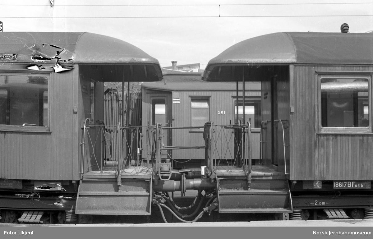 Personvogn til motorvogntog type 65 på Oslo Ø