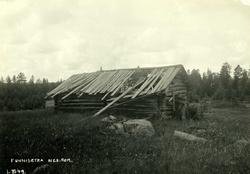 Funnisetra, Øvre Romerike, Nes, Akershus. Forfallent seterhu