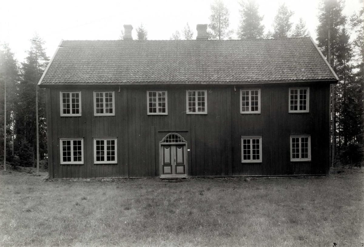 Nordre Åset, .Åmot, Sør-Østerdal, Hedmark. Våningshus fra 1795. Nå på Glomdalsmuseet.