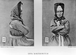 Roland Bonaparte sin samling. Portrett av Offa Dimitrowitch
