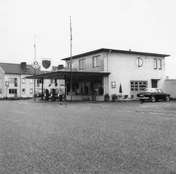 BP:s bensinstation på Helsingborgsvägen, Klippan, Skåne. Vol