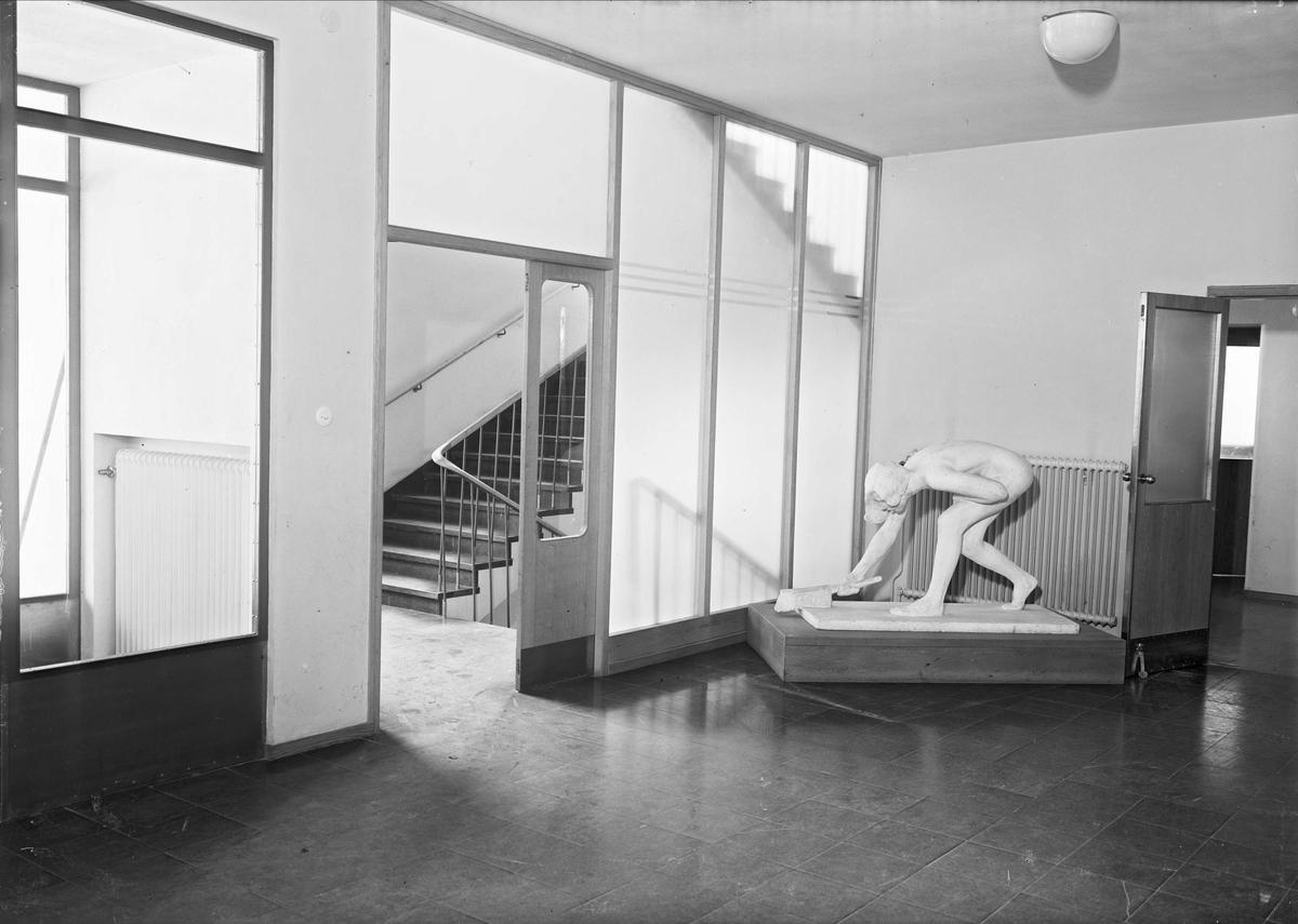 Kvinnokliniken vid Akademiska sjukhuset, Uppsala, interiör 1947