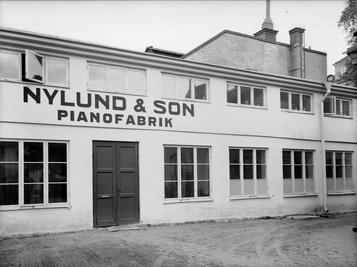 Pianofabriken Nylund & Son, Alsikegatan 2, Uppsala