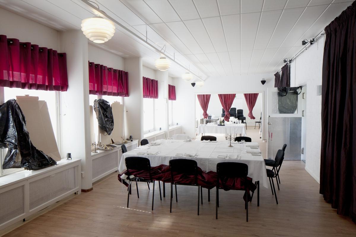 Landstingets elevhem, kvarteret Gudmund, Luthagen, Uppsala 2012