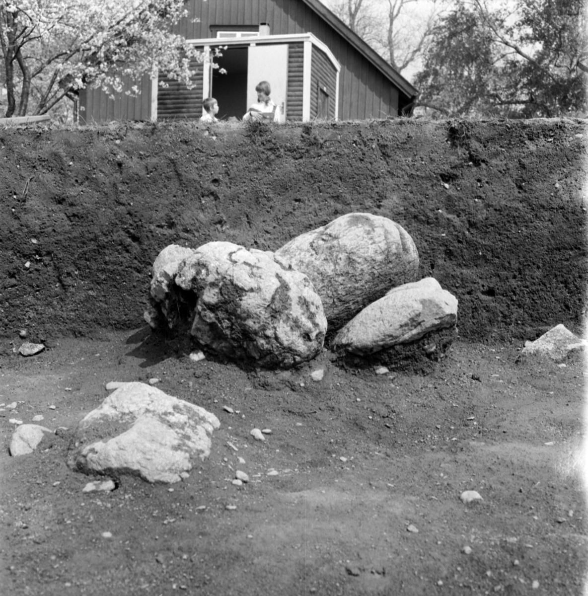 Prästgården, anläggning 9 - Arkeologi Gamla Uppsala 1973