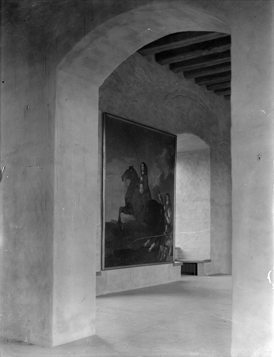 Interiör i Uppsala slott, Uppsala 1932