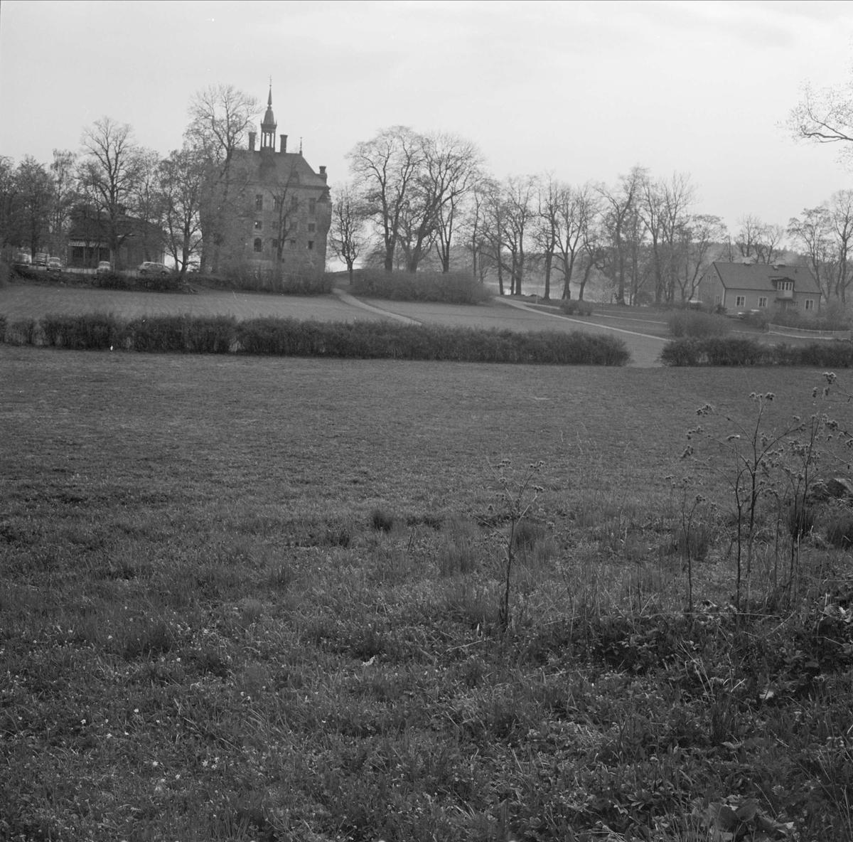 Parkområde vid Wiks slott, Vik, Balingsta socken, Uppland 1965