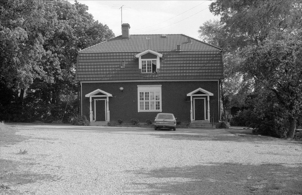 Församlingshus, Börje 2:1, Börje socken, Uppland 1983