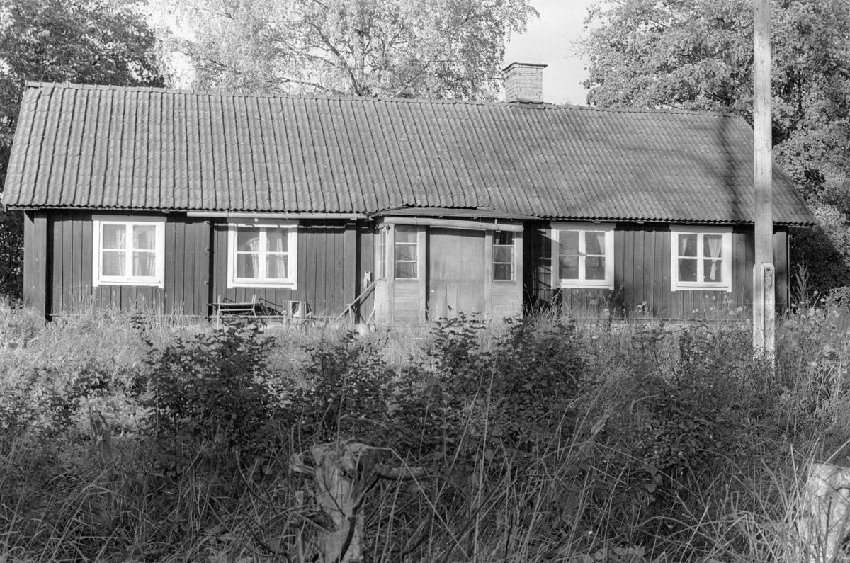 Parstuga, Björhammar 1:7, Björhammar, Lena socken, Uppland 1978