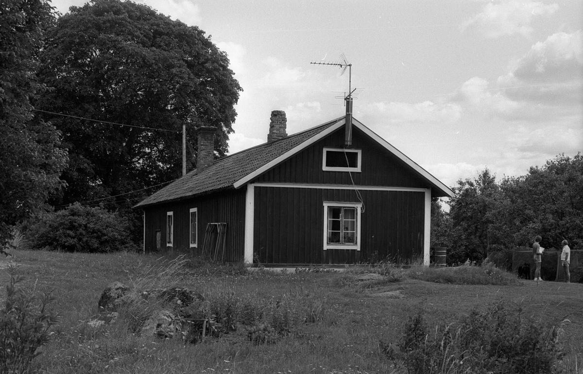 Bostadshus, Sättergärde, Rasbo socken, Uppland 1982