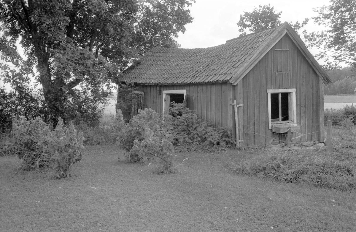Brygghus, Lilla Frötuna, Åkerby, Funbo socken, Uppland 1982