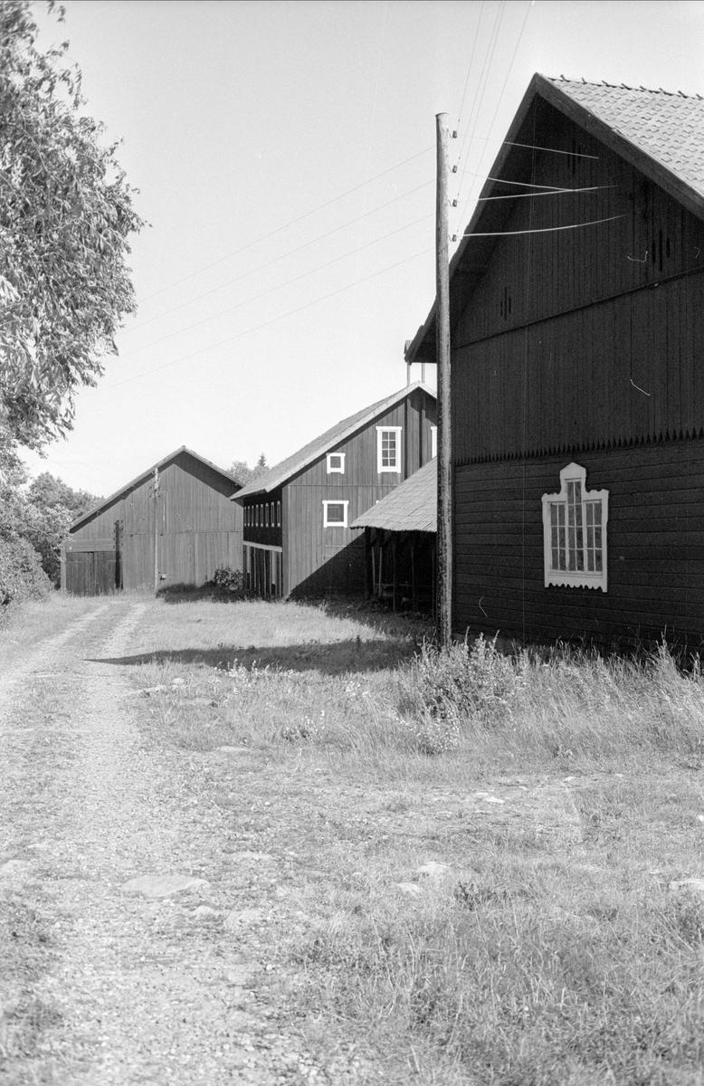 Redskapslider, magasin och loge, Halmbyboda 2:1, Halmbyboda, Funbo socken, Uppland 1982