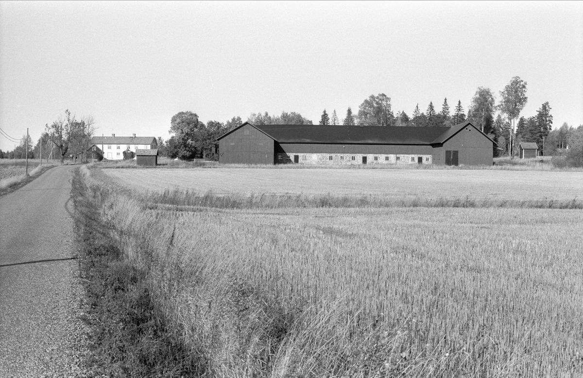 Vy över Åkerlänna S:1, Bälinge socken, Uppland 1983