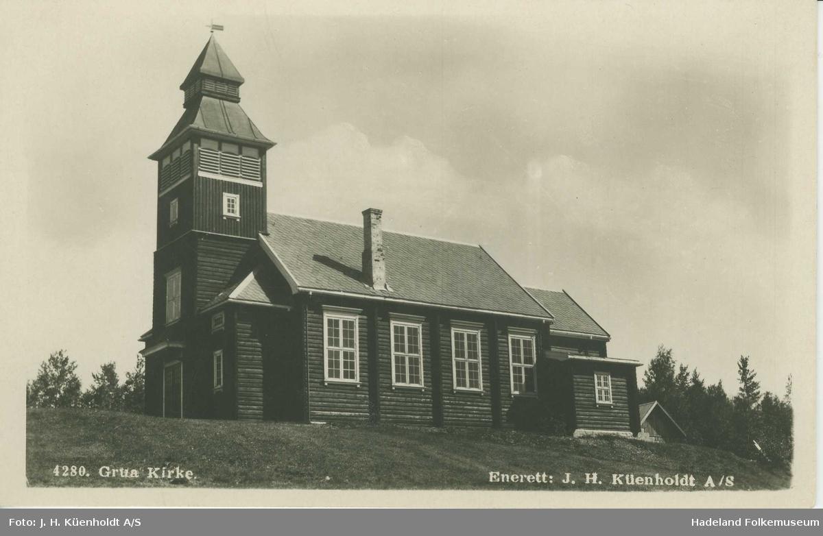 Grua kirke / Grua kapell