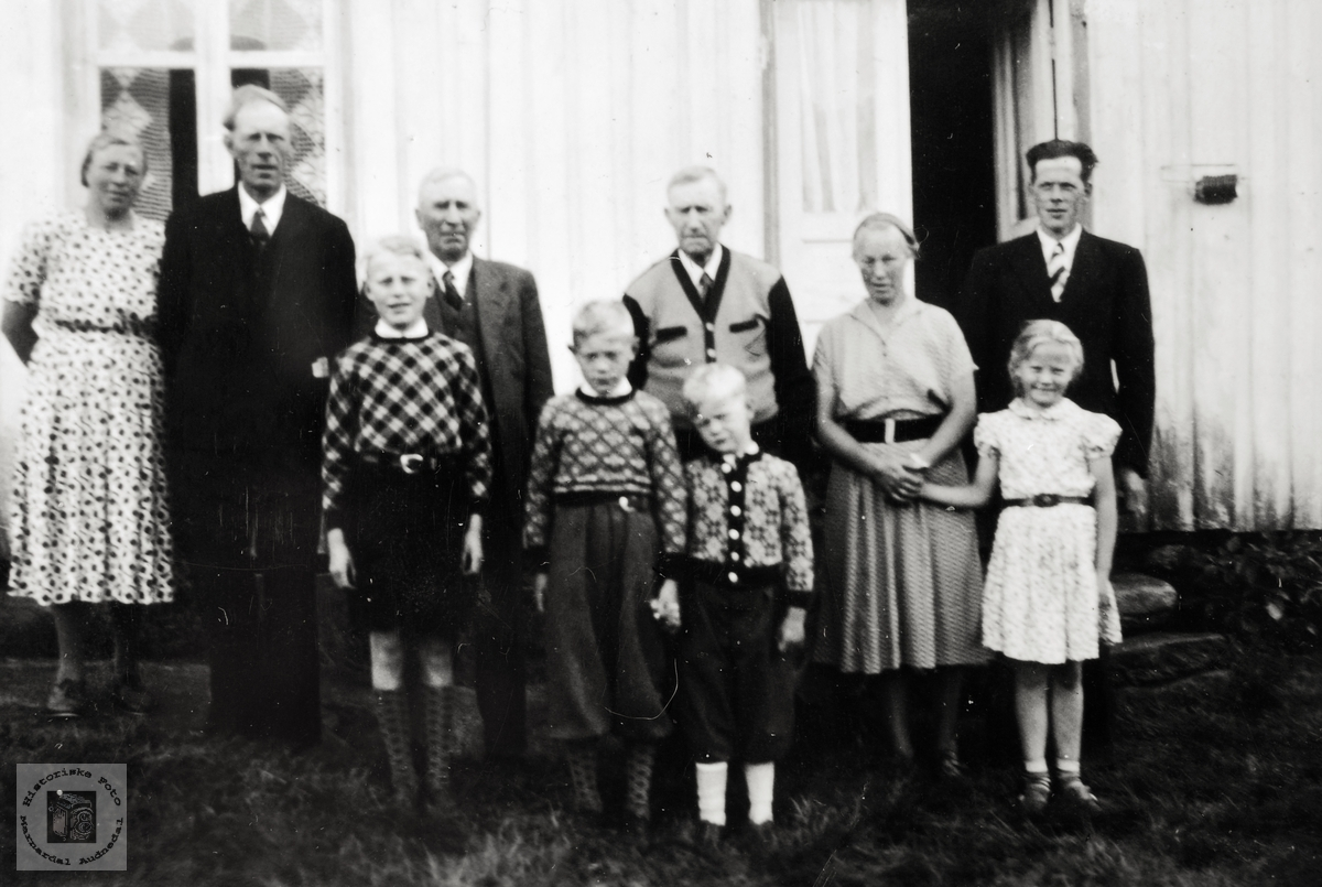 Familietreff på Iveland, Grindheim.