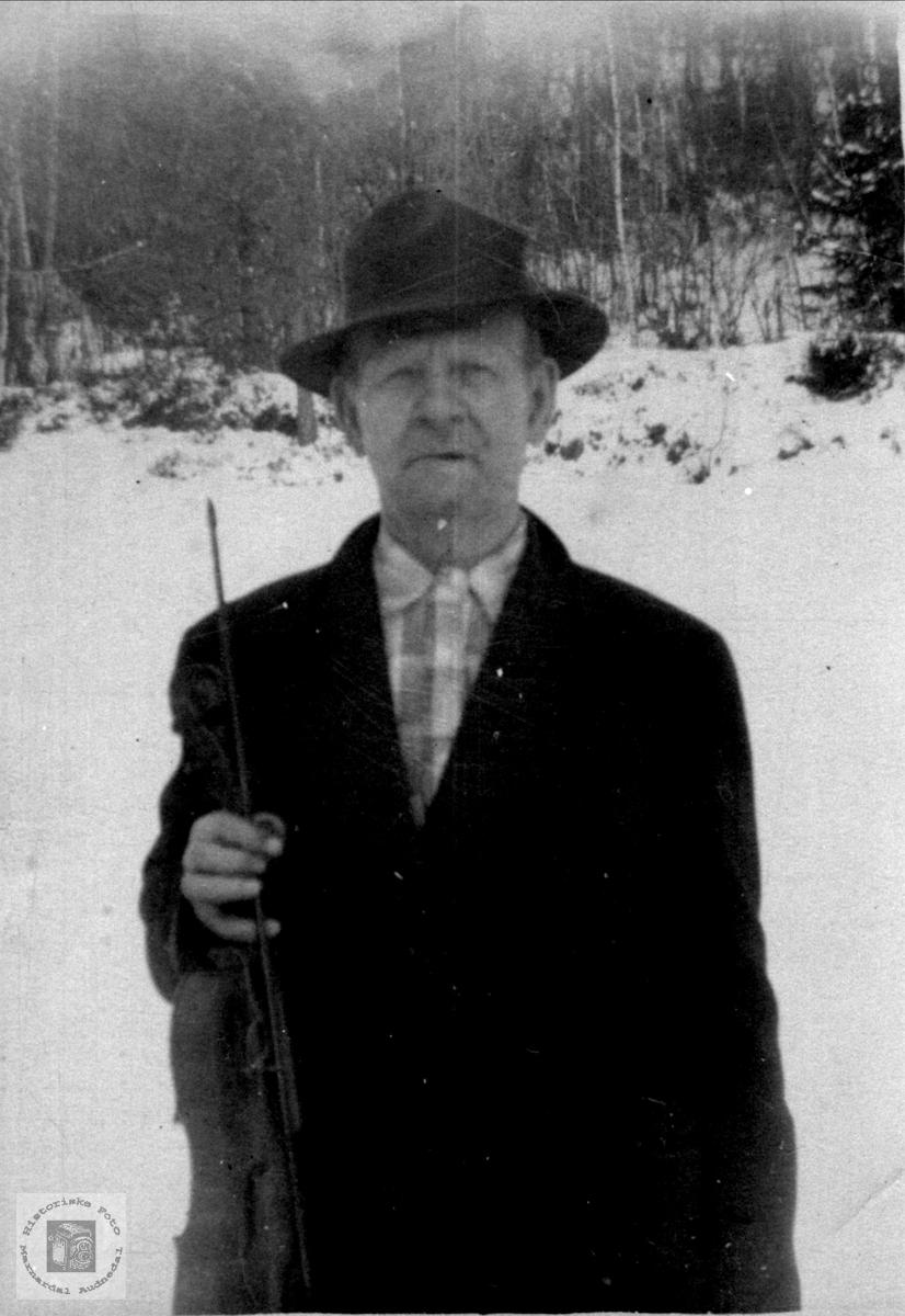 Portrett av Ånen Tversland, Bjelland.