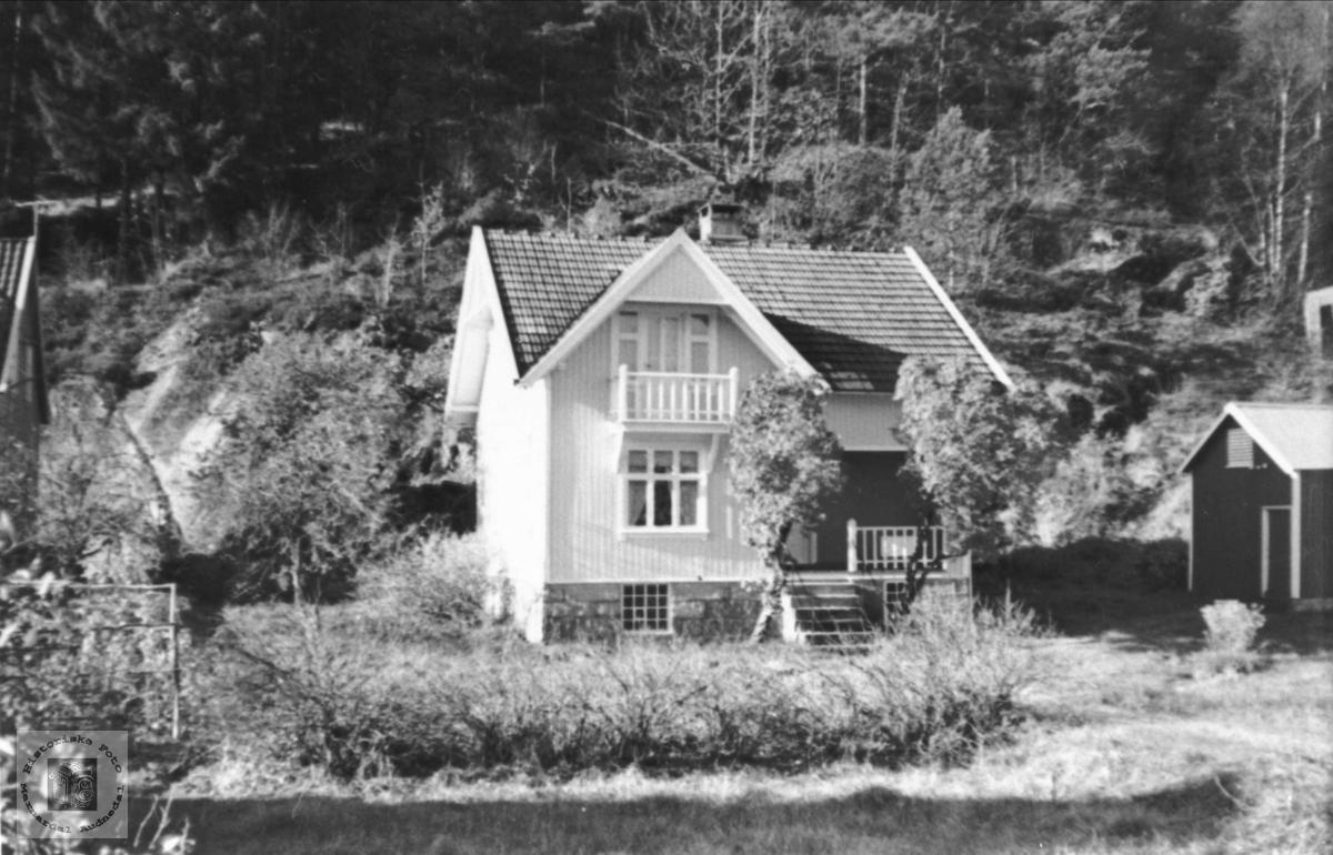 Targjerd Trygsland sitt hus på Øyslebø.