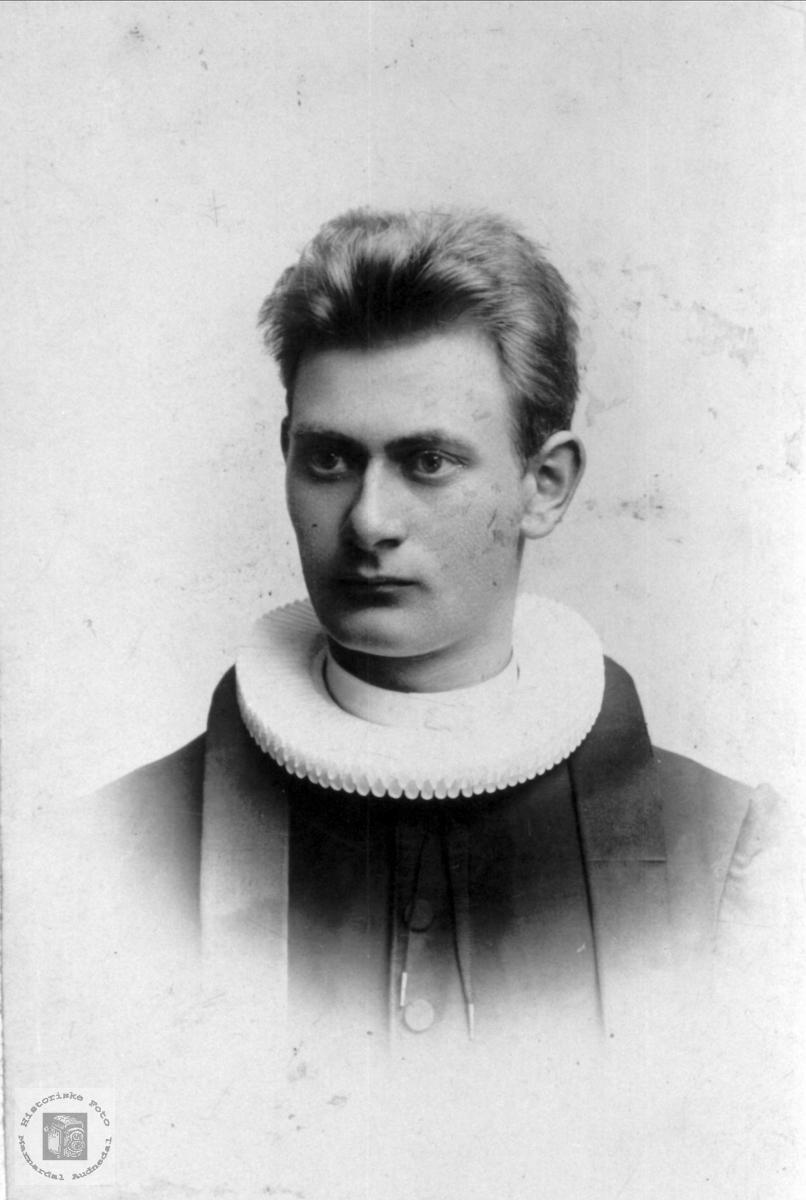 Portrett av Olaf Nome, Øyslebø.