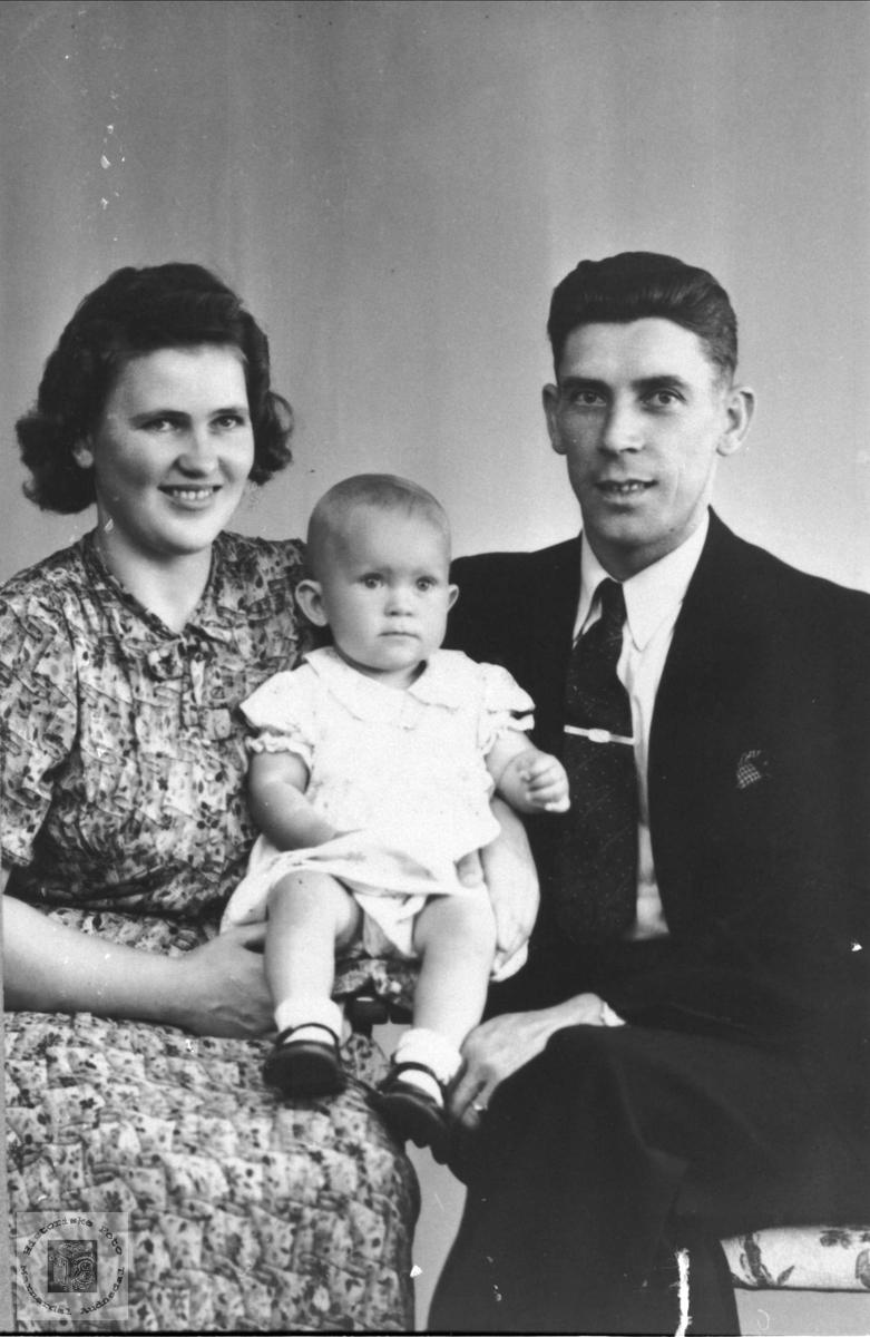Familiebilde Øverland.