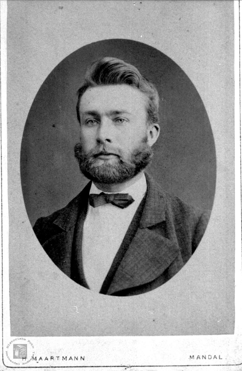 Portrett av Knut Leirkjær, Øyslebø.