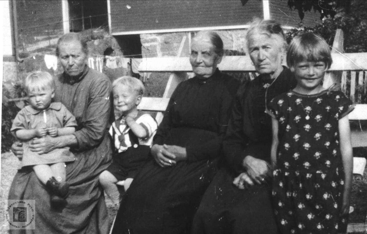 Gruppe Heddeland, Kristiansen, Engebretsen,Leirkjær og Hennestad.