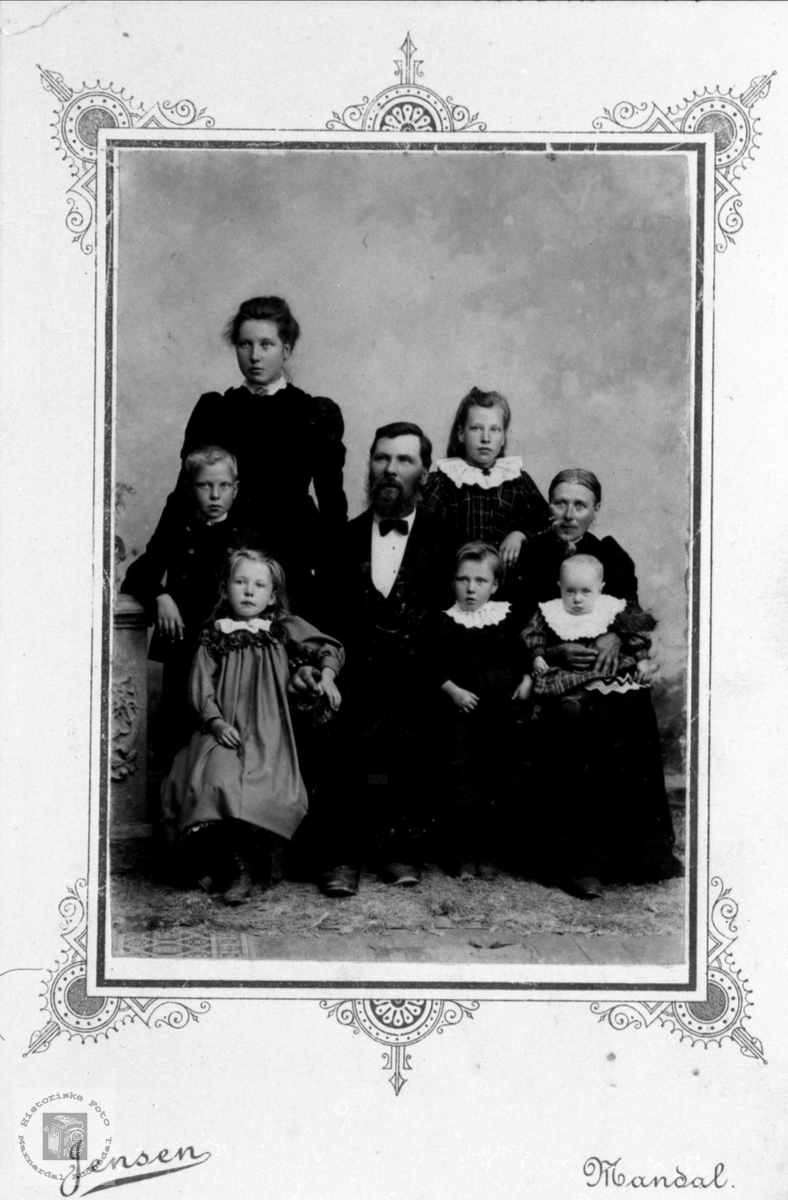 Familiegruppe Sløgedal, Øyslebø.