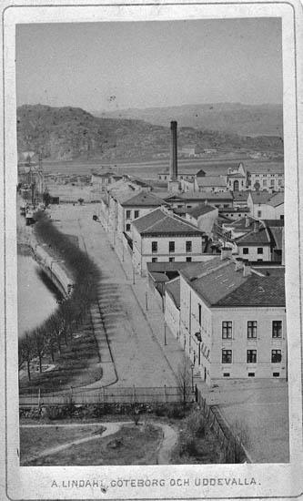 Uddevalla, Norra Hamngatan ca 1875