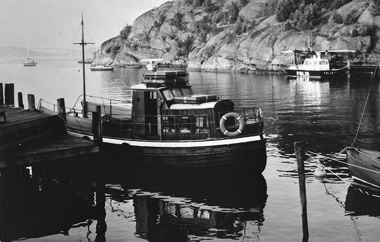 Passagerar- och taxibåten BJÖRNi Fiskevik