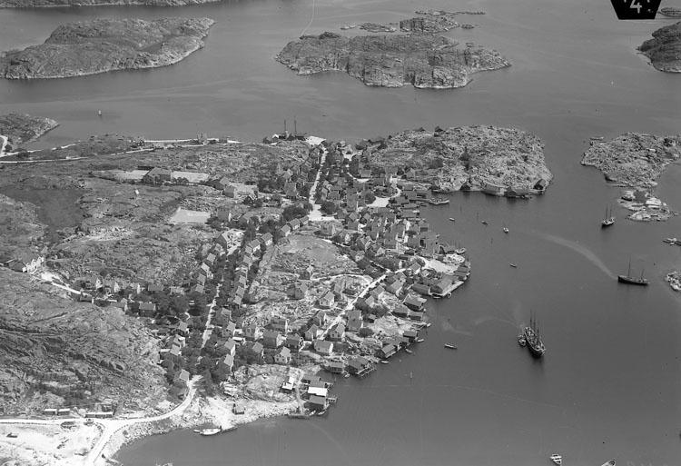 Flygbild över Hovenäset 1935