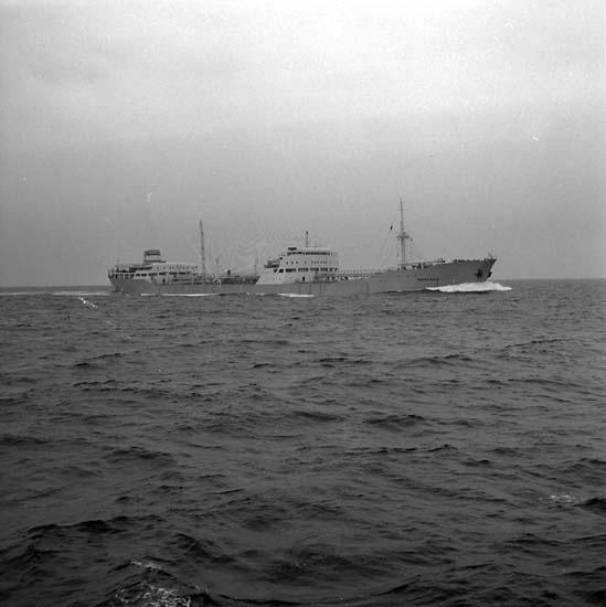 M/T Thorsvaag DWT.34.000 Rederi A/S Thor Dahl, Sandefjord Kölsträckning 57-0917 Nr. 164 Leverans 58-05-28 Tankfartyg