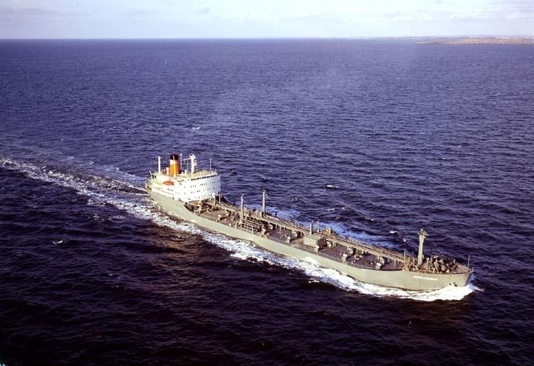 M/T Athelknight DWT. 17.610 Rederi Athel Line Ltd, London England Kölsträckning 67-03-20 Nr. 220 Leverans 68-02-16 Tankfartyg