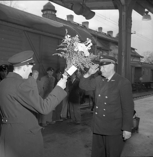 """Enligt notering: """"Konduktör Jakobsson dec. 1947""""."""