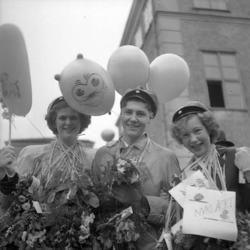 Realexamen i Uddevalla 1950