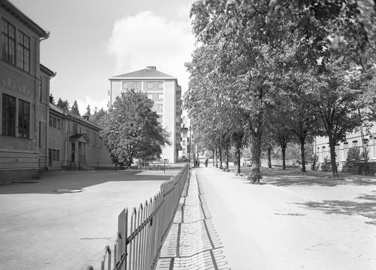 """Enligt notering: """"Skolgatan 14/6 56""""."""