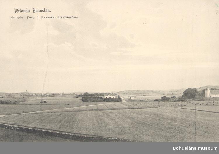 """Tryckt text på kortet: """"Jörlanda. Bohuslän"""".  """"Nr. 13162"""". ."""