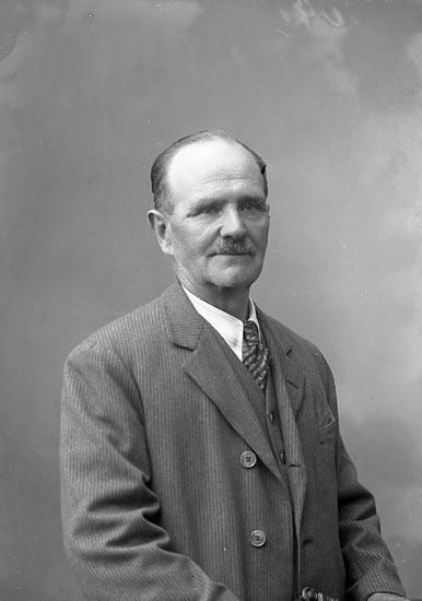 """Enligt fotografens journal nr 7 1944-1950: """"Norder, Herr Östen Stenungsund""""."""