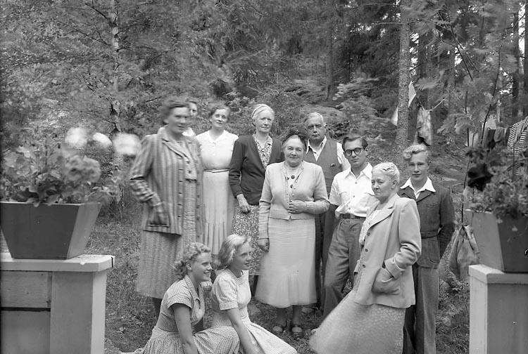 Familjen Melander på Stora Askerön.
