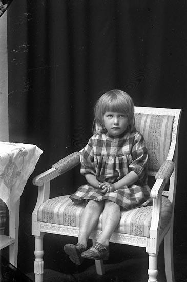 """Enligt fotografens journal Lyckorna 1909-1918: """"Gillberg Valli Lyckorna""""."""