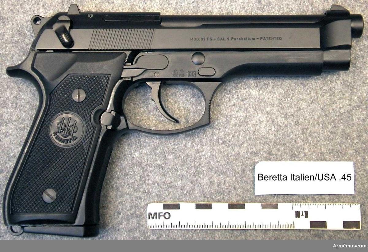 Pistol Beretta 92F