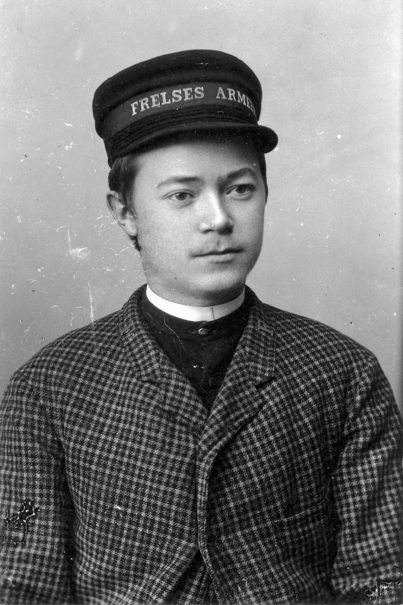 Soldat i Frelsesarmeen i Egersund