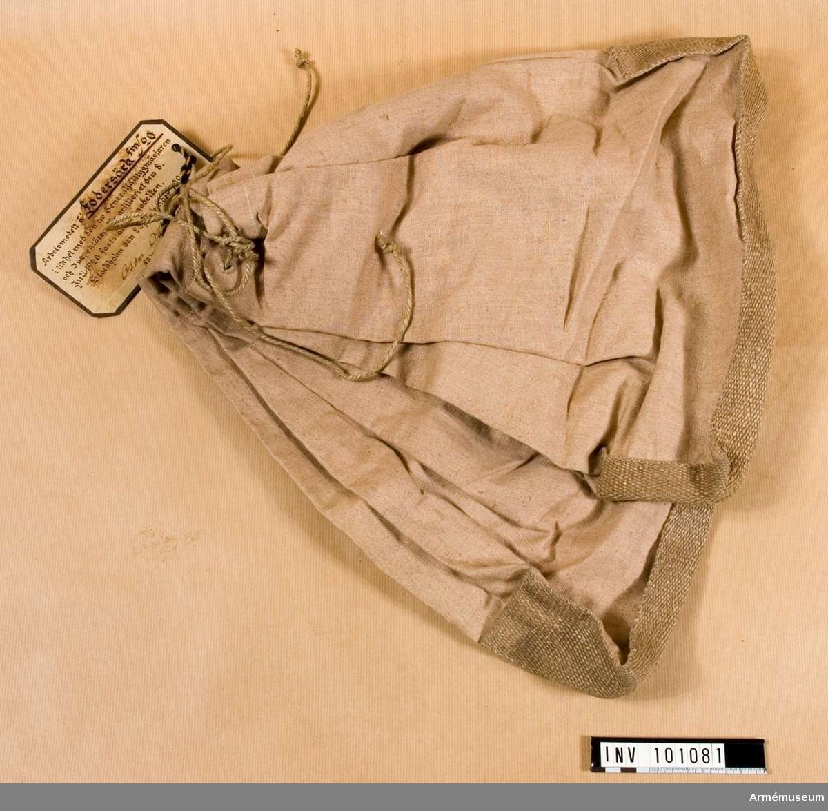 Fodersäck fm/1920