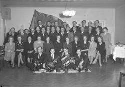 """Text till bilden: """"Elektrikernas Fackförening på Tärnan. 194"""