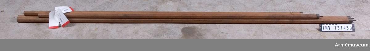 8-kantig, 33 mm, l 188 cm